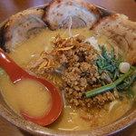 麺場 田所商店 - 信州味噌 炙りチャーシュー麺 1026円