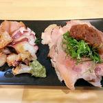 大阪麺哲 - 盛り合せ