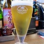 ちゃ味道楽 - 生ビール・ハートランド ピルスナー