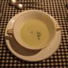 レストラン モーヴ - 料理写真:枝豆のポタージュ(温)