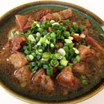 うどん細川 - 料理写真:肉肉うどん