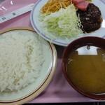 慶応義塾大学三田キャンパス 山食 - 2014.08 打って変わった3色ランチ@500