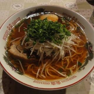 あいうえお - 料理写真:しょうゆラーメン