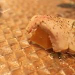 クッチーナ イタリアーナ セルヴァッジョ - フレッシュフォアグラとマンゴ切り口