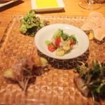 クッチーナ イタリアーナ セルヴァッジョ - 冷たい前菜