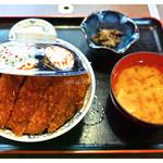 たけだ - 「ジャンボソースカツ丼セット」(2012.10)