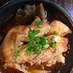半魚人 - アラ炊き