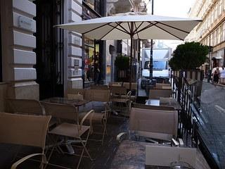 DEMEL Vienna - オープンカフェ(2011年7月13日)