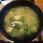 中清食堂 - お味噌汁