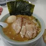 3009003 - スペシャル(チャーシュー麺中盛+煮玉子+のり3枚増+ライス)