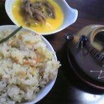 魚松 たぬき茶屋 - 松茸ごはん、どびん蒸し
