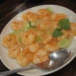 泰興楼 - 芝えびの塩味炒め