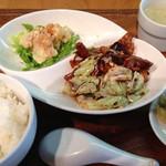 30090727 - 回鍋肉とエビマヨのセット