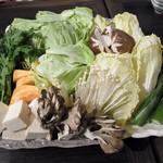 清香美林 - 野菜盛り