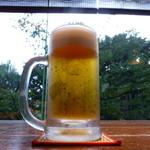 卓庵 - 【H26.8.13】生ビールから。