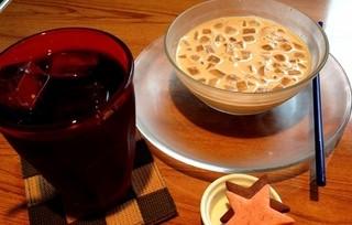 ハッピースマイルコーヒー - アイスカフェオレ☆