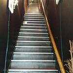 30094636 - 階段を上って店内へε=ε=(ノ≧∇≦)ノ