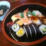 太閤寿し - すし定食 大盛り