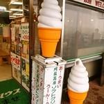 草千里レストハウス - 阿蘇高原ソフトクリーム