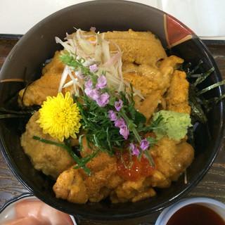 北川食堂 - 生ウニ丼