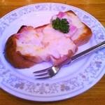 アリスのきっちんるうむ - ベーコン&チーズトースト