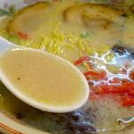 一番星 - さらりとコクのある豚骨スープ