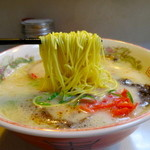 一番星 - 細ストレート麺(粉おとし)