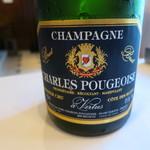 レストラン マノワ - ②CHAMPAGNE CHARLES POUGEOISE COTE DES BLANCS