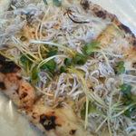 ハイジピッツェリア - 釜揚げシラスのピザ