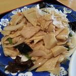 30100952 - 乾豆腐の食感が面白いです。