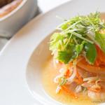 Royal Garden Cafe - 低温で煮込んだ鶏肉と海老、野菜のサフラン風味【2014年8月】