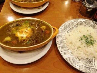 Kikuya Curry - 野菜・チャナ豆カリー(和風南蛮)