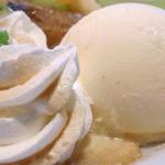 カフェ irodori - バニラアイスクリームは追加+¥150☆♪
