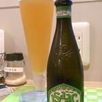 カフェ irodori - イタリアのビール・イザック¥700 ビールは他にヒューガルデンホワイトなど5~6種類☆♪