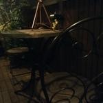 カフェ&ワインバー ロワ - 緑に囲まれたテラス席(^o^)