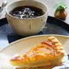 あさい - 料理写真:オレンジタルトとアイスコーヒー