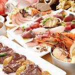 海の厨 膳丸 - 海鮮ワイン蒸しと山形牛の宴
