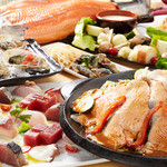 海の厨 膳丸 - 海厨カルパッチョと松阪ポークの大鉄板焼きの宴