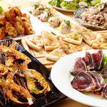 海の厨 膳丸 - トロ鰹の厚切りカルパッチョと季節素材のピッツァ&パスタを楽しむ宴
