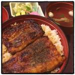 30111773 - 鰻丼@2480円