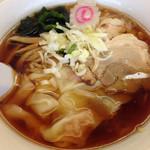 東武ラーメン - ワンタンメン550円