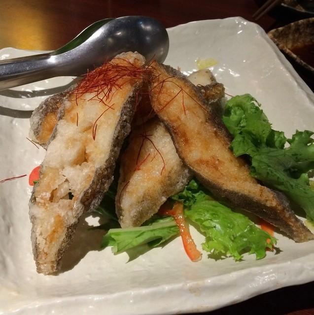魚問屋 魚きんた - コース(カレイ唐揚げ)