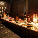 炭火焼き鳥と博多野菜巻き串 個室居酒屋 結 - プライベート感たっぷりの個室はデートにも◎