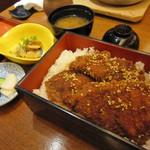 日本料理 桜ばし - 福井名物ソースかつ丼♪