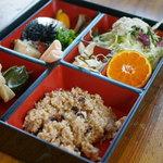 ヘルシーハウスやさい畑 - 玄米定食ランチ