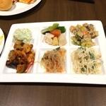 グランブッフェ 盛岡南 - サラダ、前菜系