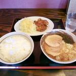 Ramenfutaba - 焼肉定食850円。