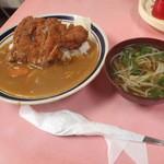 一福食堂 - カツカレー 750円