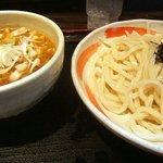 小平うどん - ガッツリごまダレつけ麺!
