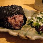 首里製麺 - 古代米おにぎり 200円ぐらい